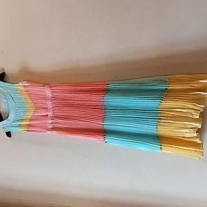 Girls long flowing dress.